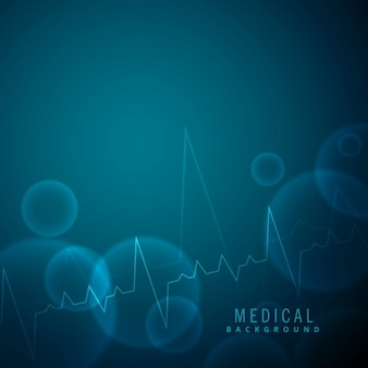 Nice blue background about medical science