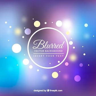 Bello sfondo sfocato in blu e viola