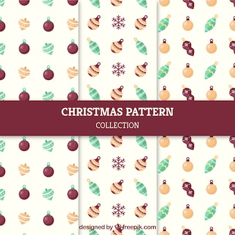 Nice christmas patterns collection