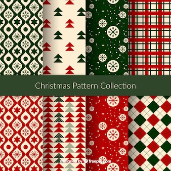 Premium Vector Nice Christmas Patterns