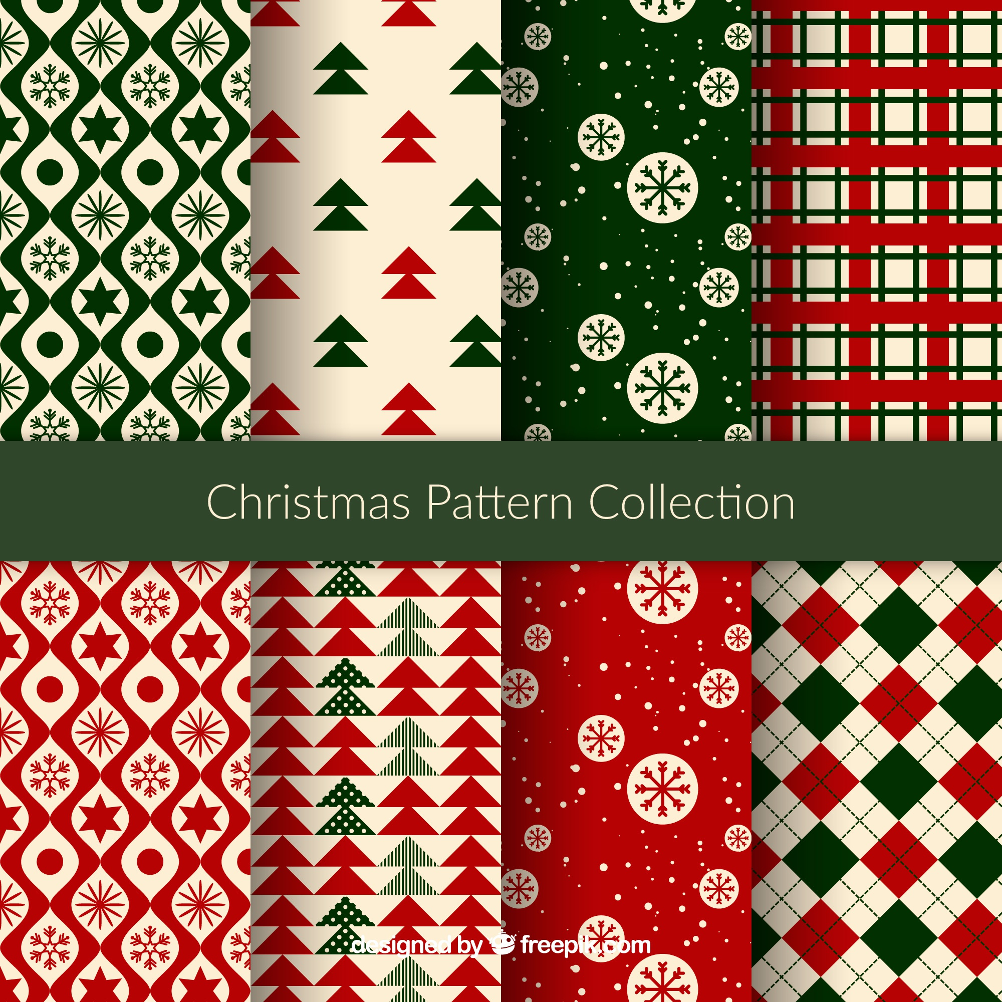 Nice christmas patterns
