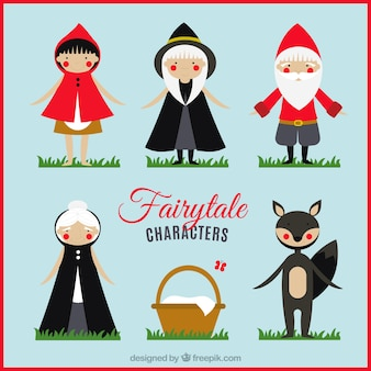 Nice collection of fairy tales characters