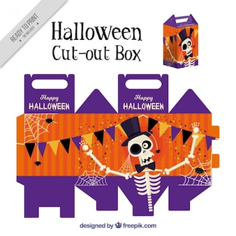 Nice cut out box of skeleton