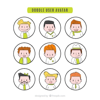 Nice doodle user avatar collection