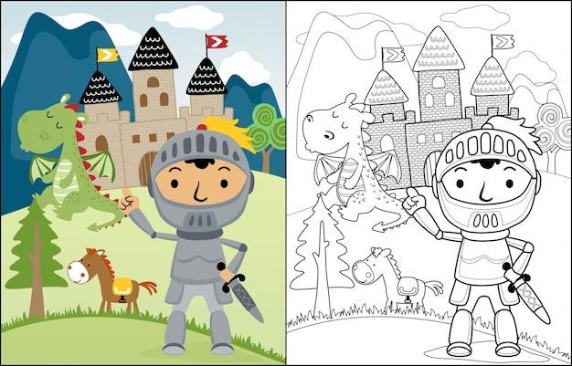 Nice fairytale character cartoon