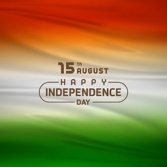 Nice flag for independence day of india