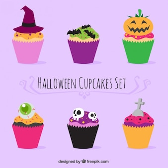 Nice halloween cupcakes
