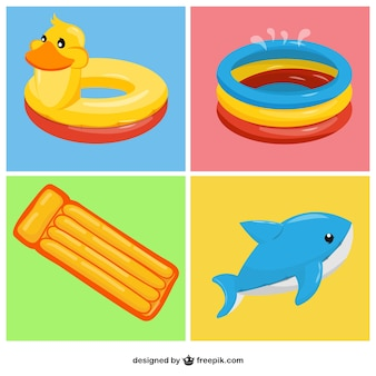 Хорошие надувные игрушки набор
