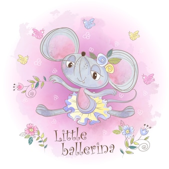 Nice little mouse ballerina