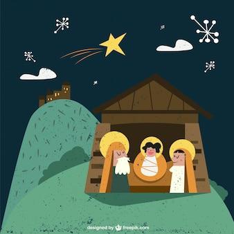 Nice manger scene