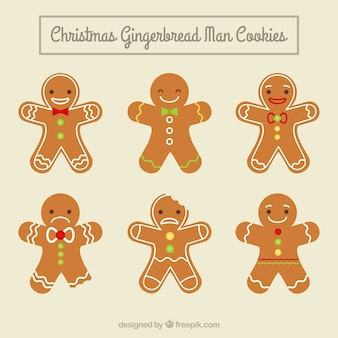 Nice men gingerbread