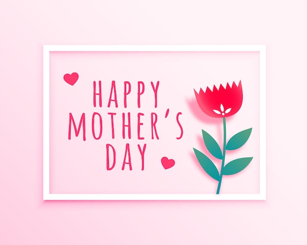 Nice mothers day wishes card background