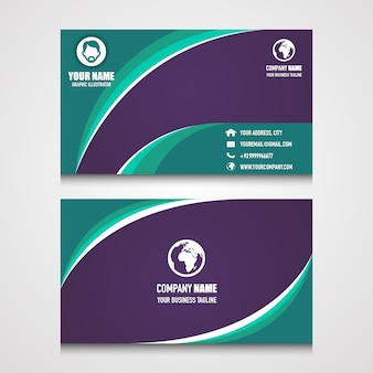 Nice name card design for your business