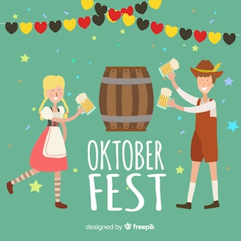 Nice oktoberfest background
