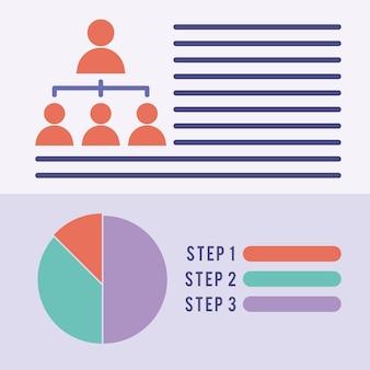 Nice population design with steps