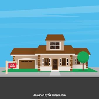 Nice rental house background