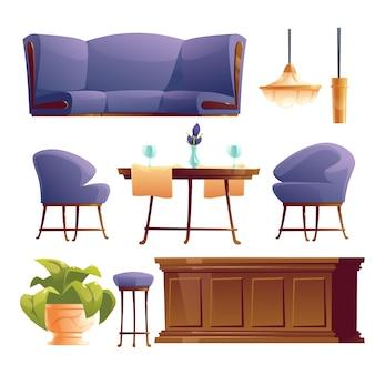 素敵なレストランの家具コレクション