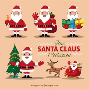 멋진 산타 클로스 팩