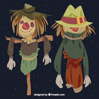 Nice scarecrows