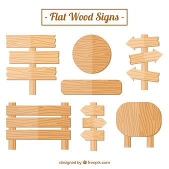 木製看板のニース選択