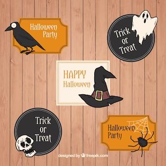 Хорошие наклейки праздновать хэллоуин