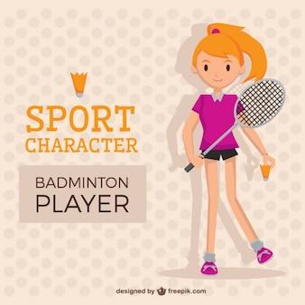 Nice tennis player girl