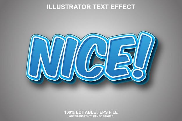 Красивый текстовый эффект редактируемый