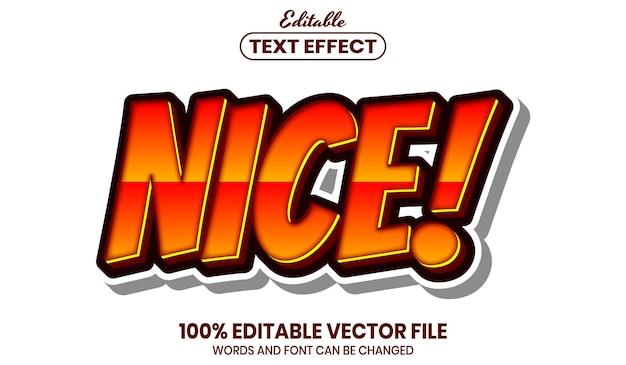 Хороший текст, редактируемый текстовый эффект в стиле шрифта