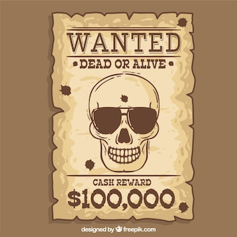 Nice wanted poster western