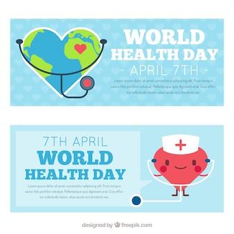 Nizza mondo bandiere di giorno la salute