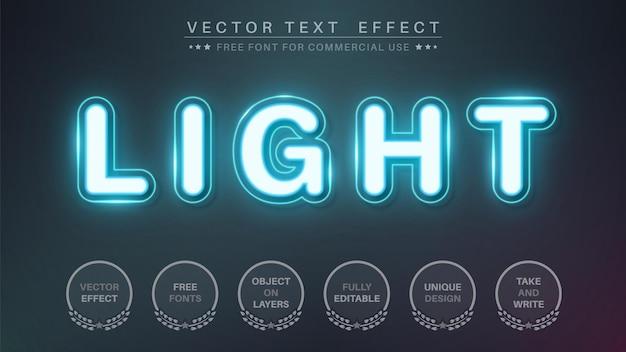 Night club text effect