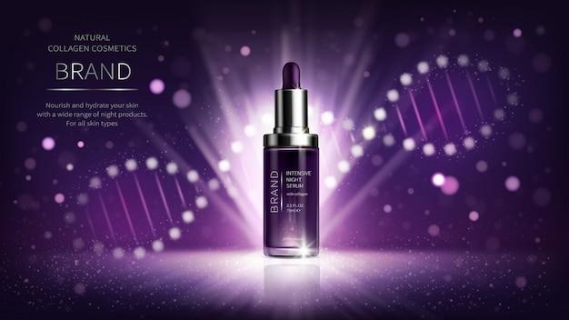 Cosmetici notturni con collagene