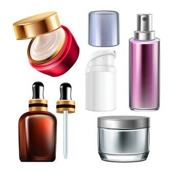 Набор контейнеров для ночного крема и косметики
