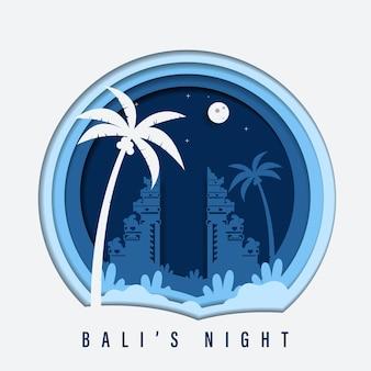 バリ島の夜