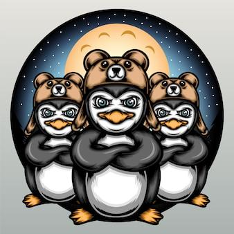 Отряд ночных пингвинов.