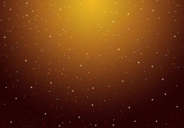 夜輝く星の背景