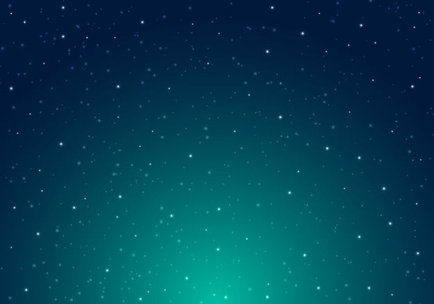 Night shining starry night sky with stars space background