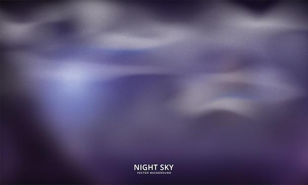 夜空の抽象的な背景。ベクトルイラスト