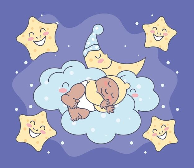 夜寝赤ちゃん