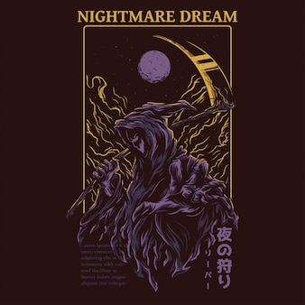 Nightmare dream