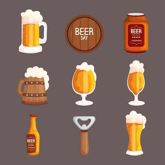 9 맥주 아이콘