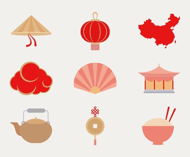 9개의 중국 항목