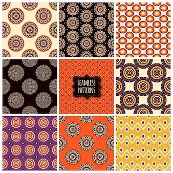 9 개의 화려한 패턴