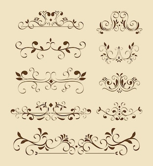 Nine dividers victorians