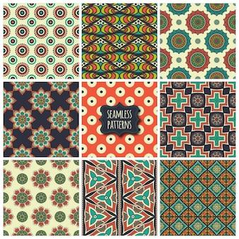 9 개의 에스닉 패턴