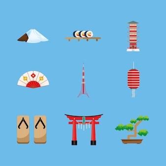 9つの日本文化のアイコン