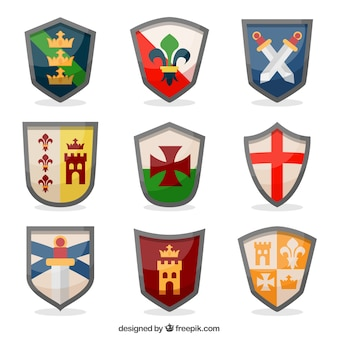Девять эмблем рыцаря