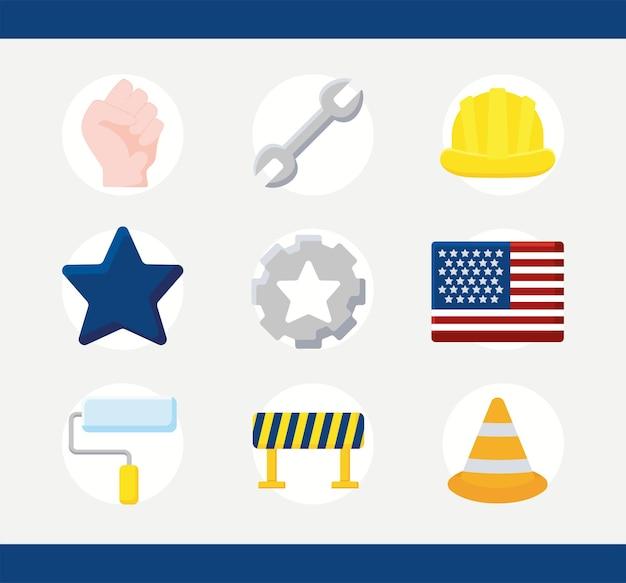 Nine labor day items