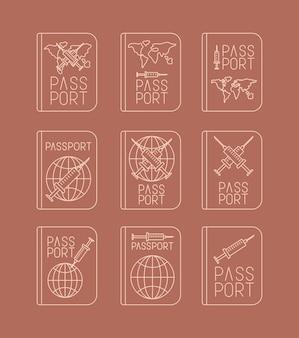 Девять медицинских паспортов