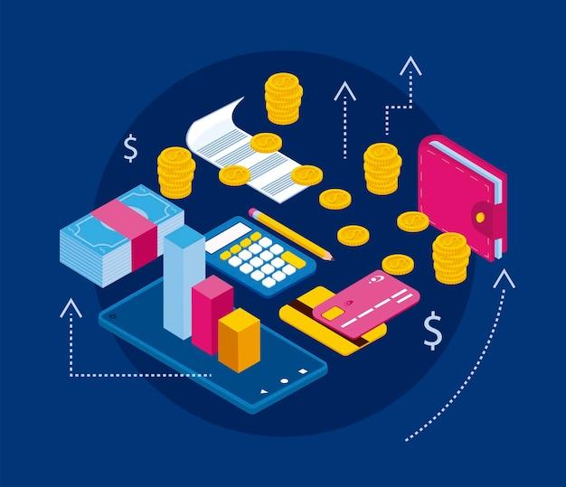 Девять иконок личных финансов